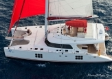 2011 Sunreef 70 sailing